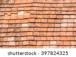 spanish tile roof. abstract... | Shutterstock . vector #397824325