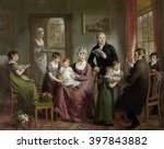 Portrait Of The Family Of...