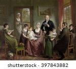 portrait of the family of... | Shutterstock . vector #397843882