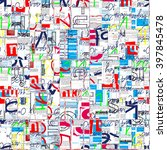 abstract background. grunge...   Shutterstock . vector #397845478