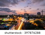 Top View Of Colombo City At...