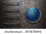 Submarine Or Ship Porthole Wit...