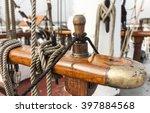 Wooden Nails And Ropes  Bank Of ...