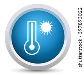 hot weather icon   Shutterstock .eps vector #397893022