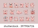 set vector stock illustrations... | Shutterstock .eps vector #397906726