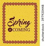 hello spring design  | Shutterstock . vector #397920448