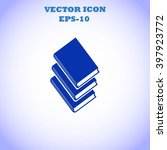 books icons in vector. | Shutterstock .eps vector #397923772