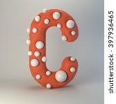 3d plasticine handmade font.... | Shutterstock . vector #397936465