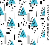 creative boho seamless abstract ... | Shutterstock .eps vector #397955716