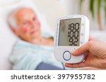 very high blood pressure... | Shutterstock . vector #397955782