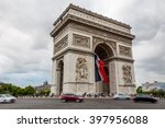 paris  france  july 26.2015  ... | Shutterstock . vector #397956088