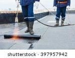 Flat Roof Installation. Heatin...