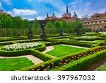 Valdstejnska Garden And Prague...