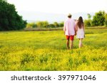 young young couple in love... | Shutterstock . vector #397971046