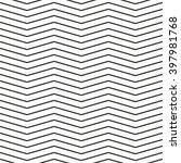 seamless chevron pattern.... | Shutterstock .eps vector #397981768