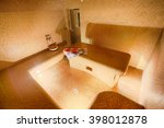 interior of turkish sauna ... | Shutterstock . vector #398012878