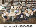 education school student... | Shutterstock . vector #398042842