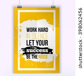 vector business success quote...   Shutterstock .eps vector #398062456