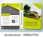 brochure design template vector.... | Shutterstock .eps vector #398067532