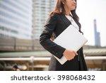successful business woman...   Shutterstock . vector #398068432