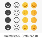 Smile Emotions Icons Vector ...
