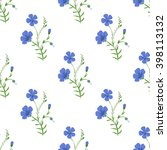 abstract elegant seamless... | Shutterstock . vector #398113132