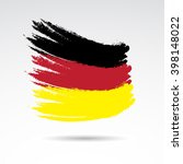 traditional colors and flag of... | Shutterstock .eps vector #398148022