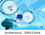veterinarian surgery in... | Shutterstock . vector #398151646