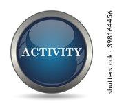 activity icon. internet button... | Shutterstock . vector #398164456