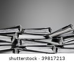 overwelming number of files... | Shutterstock . vector #39817213