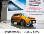 bangkok   22 march 2016   mg3 ...   Shutterstock . vector #398175292