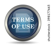 terms of use icon. internet...   Shutterstock . vector #398177665