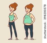cartoon characters  different... | Shutterstock .eps vector #398200378
