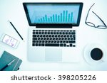 gadgets and stationary | Shutterstock . vector #398205226