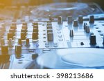 Dj Console Mixing Desk In Cool...