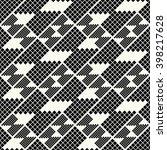vector seamless pattern.... | Shutterstock .eps vector #398217628