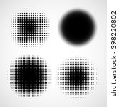 abstract halftone backgrounds.... | Shutterstock .eps vector #398220802