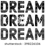 handmade illustration and...   Shutterstock .eps vector #398226106
