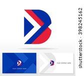 letter b logo icon design...