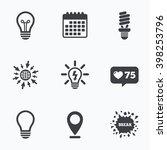 calendar  like counter and go... | Shutterstock .eps vector #398253796