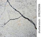 crack floor concrete texture...   Shutterstock . vector #398258386