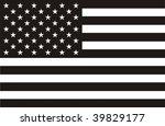 american flag | Shutterstock .eps vector #39829177
