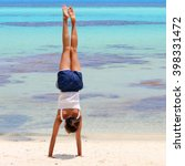 Girl Making Gymnastics On...