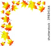 autumn foliage | Shutterstock .eps vector #39834166