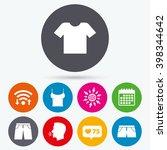 wifi  like counter and calendar ... | Shutterstock .eps vector #398344642