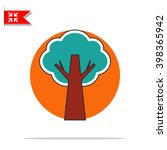 tree icon | Shutterstock .eps vector #398365942