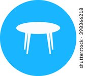 table icon | Shutterstock .eps vector #398366218