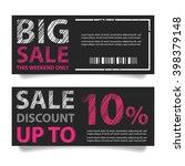 price tags design  vector... | Shutterstock .eps vector #398379148