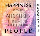 inspiration motivational life...   Shutterstock . vector #398387992