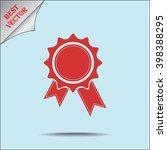 award sign icon  vector... | Shutterstock .eps vector #398388295